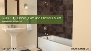 Kohler Mistos Faucet Instructions by Kohler Bathtub Faucet Installation Instructions Tubethevote