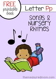 Peter Peter Pumpkin Eater Rhyme Free Download by Letter P Songs U0026 Rhymes Free Book The Measured Mom