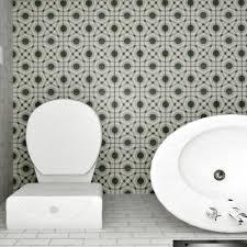 Home Depot Merola Hex Tile by Merola Tile Twenties Circle 7 3 4 In X 7 3 4 In Ceramic Floor