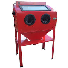 Media Blasting Cabinet Manufacturers by Amazon Com Black Bull Sbcnns Red Vertical Blast Cabinet Automotive
