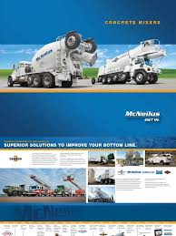 100 Mcneilus Truck And Manufacturing FullLineMixerBrochure061516pdf Engines