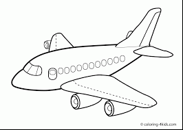 Astonishing Airplane Coloring Pages Printable With Page And To Print For