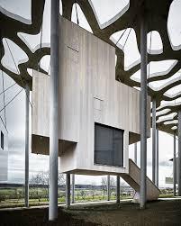 100 Rintala Eggertsson Architects Rintala Eggertsson Suspends Floating Writers Cabins In
