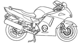 Motorbikes Colouring Pages 20 Motorcycle Coloring Free Printable