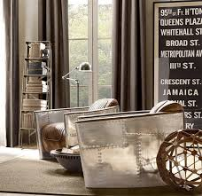 Aviator Living Room Furniture Collection By Restoration Hardware