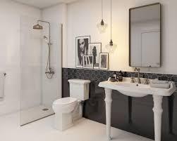schwarz weiß eleganz im badezimmer ceramika paradyz