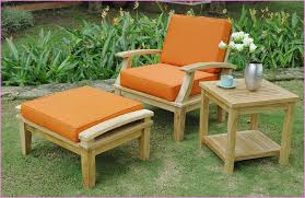 Image Of Rustic Wooden Patio Furniture