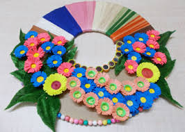 Wall Decor Ideas Easy Paper Craft Using Best Out Of Waste