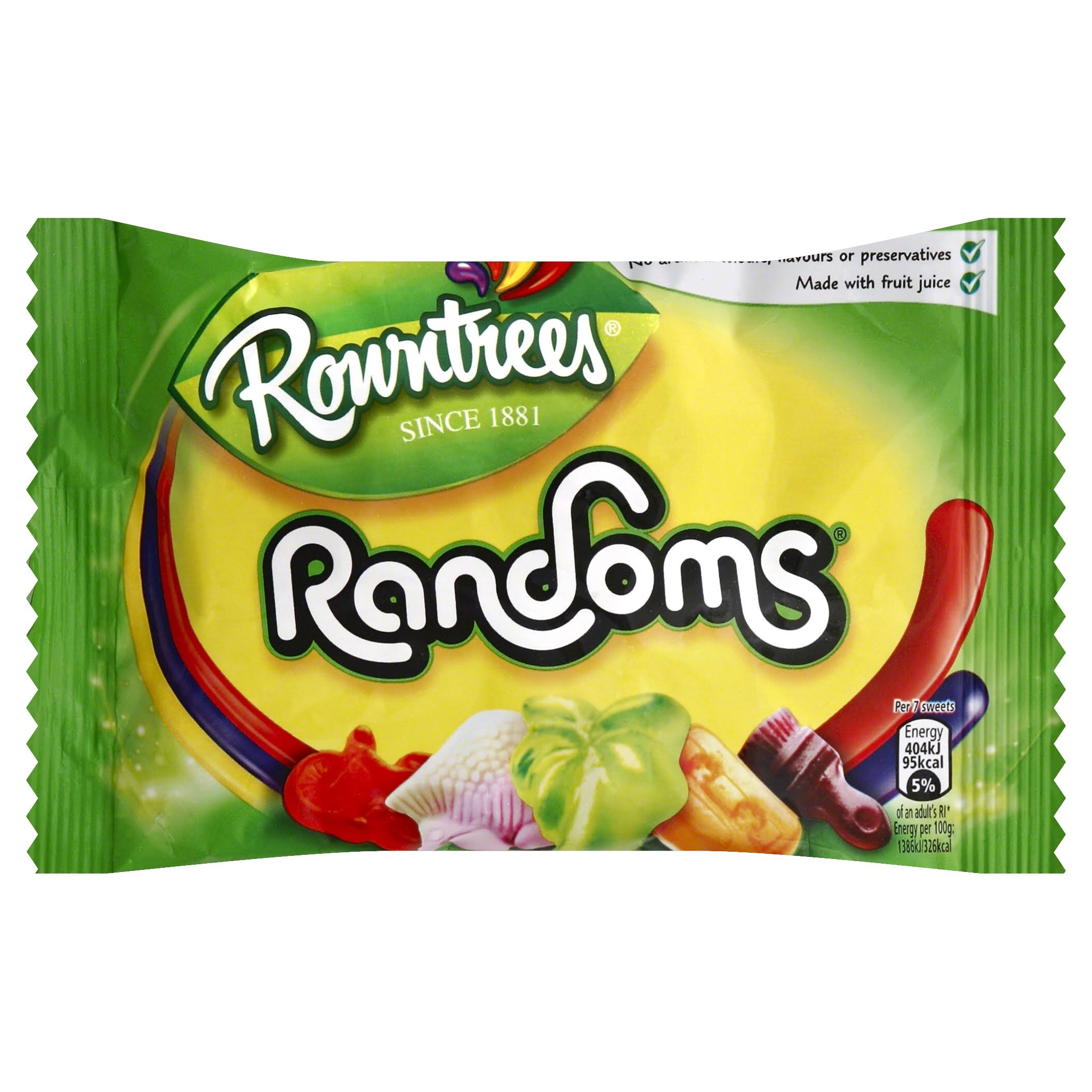 Rowntrees Randoms Sweets Bag - 50g