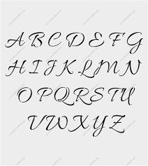 Fancy Letter Stencils Printable