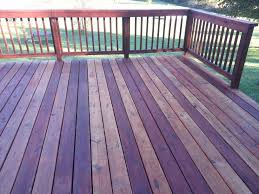 Cabot Semi Solid Deck Stain Drying Time by Varigated Deck Stain I Used Cabot Australian Timber Oil In Jarrah