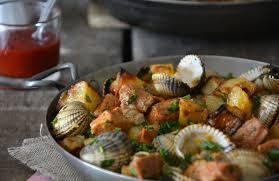 recette de cuisine portugaise facile carne alentejana recette portugaise de porc aux coques things