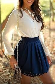 Chiffon Spliced V Neck Long Sleeve Dress