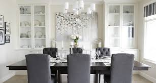 Spacious Dining Room Cabinet Designs