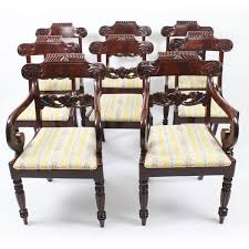 Antique Set 8 Regency Flame Mahogany Dining Chairs Manner Of Gillows ... Antique Set 10 Victorian Mahogany Balloon Back Ding Chairs 19th Of Six Century French Louis Xvi Cane Dutch Marquetry Inlaid Of 6 Legacy 12 Ft Flame Table 14 Chairs Room In Stock Photos Chairsgothic Chairsding Chairsfrench Fniture Single 2 Arm Late Hepplewhite Style Camelback 18th Walnut Chair With Queen Anne Legs English Cira 4 Turn The Century Ding In Wallasey Merseyside Gumtree 9776 Early Regency Vinterior
