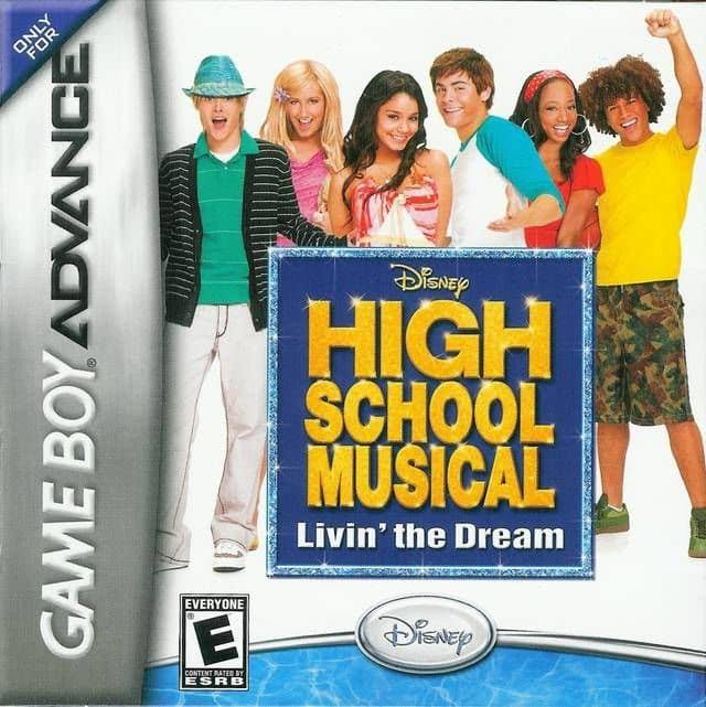 Disney High School Musical Livin The Dream - Game Boy Advance