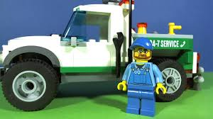 LEGO CITY PICKUP TOW TRUCK 60081 - YouTube