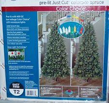 Ge Artificial Christmas Trees by Ge 7 5 Ft Just Cut Norway Spruce Light Artificial Christmas Tree