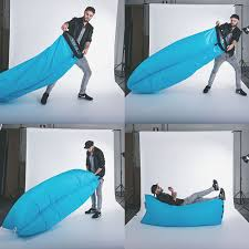 Fatboy Bean Bag Chair Canada by Fatboy Lamzac Instantly Inflatable Outdoor Lounger The Green Head