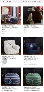 Pottery Barn Kids Harry Potter Collection - Album On Imgur Navy Star Glowinthedark Anywhere Beanbag Pottery Barn Kids Ca At Eastview Mall Closes And White Bean Bag The 2017 Wtf Guide To Holiday Catalog What Happened When Comfort Research Stopped Making Fniture For Pb Teen Ivory Furlicious Large Slipcover 41 Little Home John Lewis Grey Chair Amalias Playroom With Little Nomad Lovely Chairs Ikea Home Ideas Emstar Warsem Bb8 Only In 2019 Madison Faux Suede 5foot Lounge By Christopher Knight