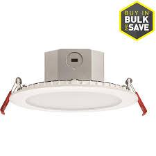 Shop Juno White LED Remodel And New Construction Recessed Light
