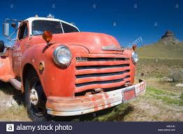 100 66 Chevy Truck USA ARIZONA ROUTE COOL SPRINGS GAS STATION CHEVY TRUCK 1953 Stock