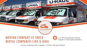 Moving Company VS Truck Rental Companies Like U-haul On Vimeo