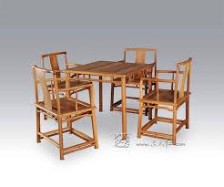 1 tisch 4 stuhl esszimmer wohnzimmer set redwood mahagoni möbel china retro palisander schreibtisch und massivholz zurück sessel holz