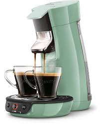 Senseo Viva Cafe HD7829 10 Pod Coffee Machine 09L Green Maker