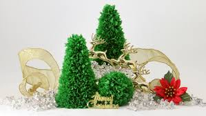 Tabletop Live Christmas Trees by Easy Tabletop Paper Christmas Tree Youtube
