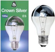 expert hardware decwells crown silver gls light bulb 100w