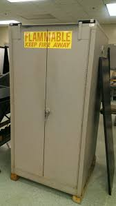 Flammable Safety Cabinet 45 Gal Yellow by New U0026 Used Liquid Flammable Fire Safety Cabinets