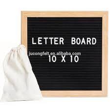 DIY Rainbow Felt Letter Board