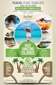 Travel Agency Flyer Design
