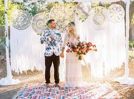 Modern Palm Springs Inspired Wedding Ideas Green Wedding Shoes