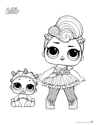 Nice Doll Coloring Pages Printable S Entry Level Resume Of Unicorn Series 3 L O Surprise
