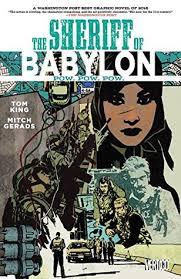 The Sheriff Of Babylon Volume 2 Pow By Tom King