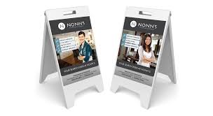 Nonns Flooring Waukesha Wi by Nonn U0027s Outdoor Signage Graphic Design By Pop Dot In Madison Wi