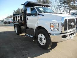 100 V10 Truck 2018 Ford F650 Single Axle Dump 320HP Automatic