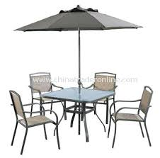 Patio Table Set With Umbrella Promotional Outdoor Furniture Amusing Folding Dining 6 Piece Garden Inc Chairs