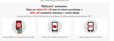 Target Red Card Holders Additional 20% Off On Women's Apparel ... Black Friday Cyber Monday Sales Coupon Codes Ashley Brooke 2018 The Best Deals Still Left At Amazon Target Madewell Jean Discount Tips And Tricks Rack Sidekick Black Friday Haul Week Sale Minimal Style Lbook Mademoiselle Where To Recycle Your Old Clothes Tunes And Tunics Staples Coupon 10 Off In Store Only Reg Price Purchase Exp 82419 3rd Edition Of The Tradein Your Bpack Get 25 A Brand 2017 All From All Top Sales Stores Actually Worth Shopping Cotton Tops Find Great Womens Clothing Deals Shopping Online In Store Coupons Promotions Specials For August