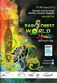 Rainforest World Music Festival August 2015