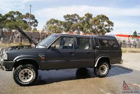 Mazda B2600 Bravo SDX 4x4 1994 Dual CAB UTE 5 SP Manual 4x4 2 6L
