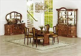 esszimmer rozza walnuss klassisch barock mit stuhl tisch yatego