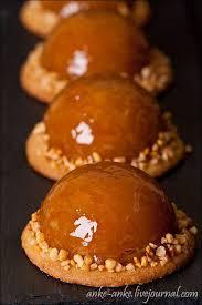 Half Sphere Caramel Apple Tart