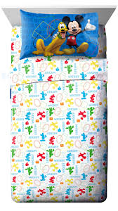 disney mickey mouse clubhouse 3 piece twin sheet set toys r us