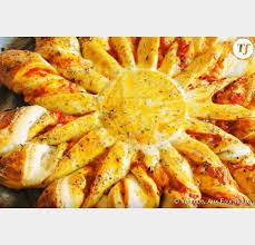 tarte soleil la recette salée façon pizza