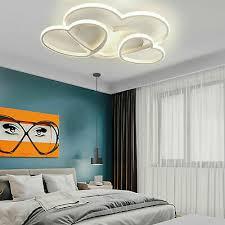 modern led deckenleuchte schlafzimmer decken dimmbar