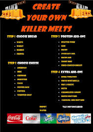Killer Melts Food Truck (Dade, Broward, Palm Beach) | Jeff Eats Pouring Redhot Melt By Truck Transporter Stock Photo 706095331 The Gourmet Grilled Cheese Rome Ny Food Trucks Roaming Get Ready For The First Rally Of Year Menu Best Bay Area Rebel Saskatoon Association Takin It Cheesy With Mobile Local Rocks La Vegan Beer Fest So Cal Gal Grand Opening Youtube Poutine Exhibit A Brewing Company Cpr Jet Melts Snow Off Plow 0840 Cooking Uncovered With Chef Miriam Dinner Week From Melt Ms Cheezious Restaurant In Miami