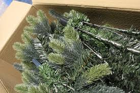7ft Artificial Christmas Trees Ireland by Best Artificial Tm 6ft Luxury Hinged Christmas Tree Real Feel